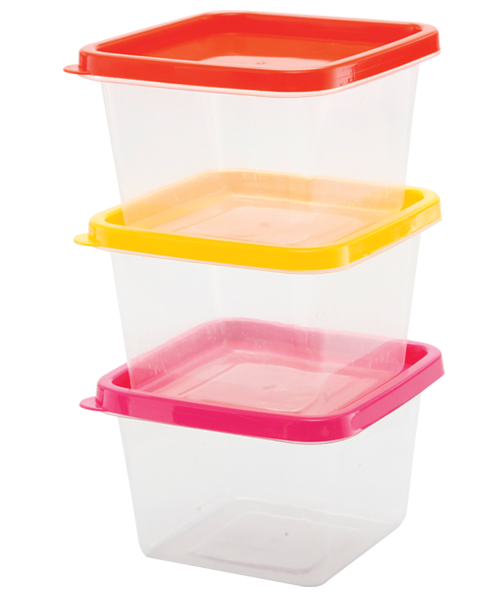 Square Disposable Container