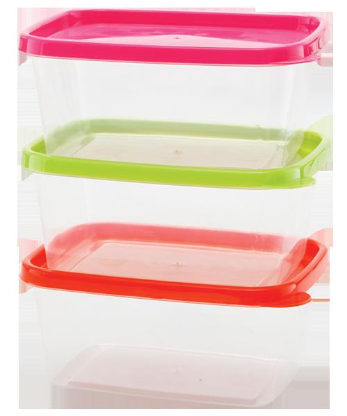 Rectangular Disposable Container