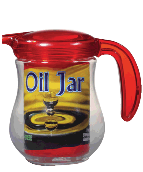 Ruby Oil Jar