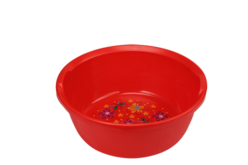 Printed Red Design Bowl