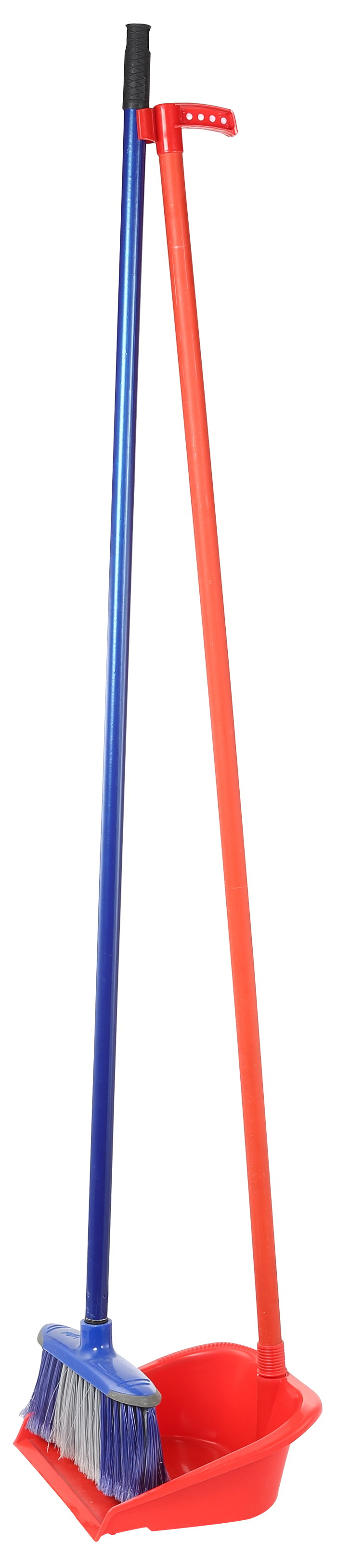 Long Dust Pan with Broom
