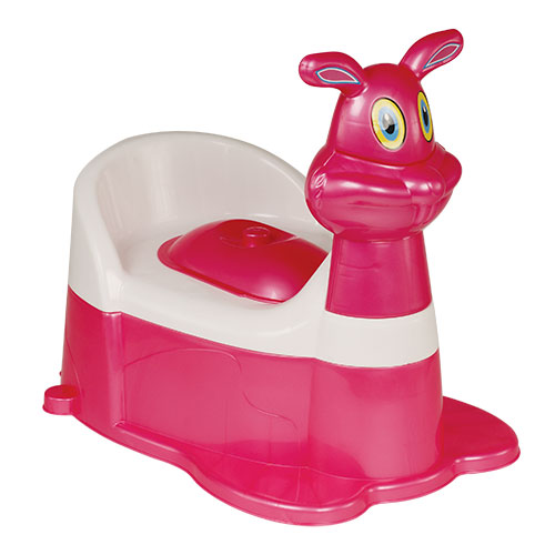 Bunny Baby Potty Pink