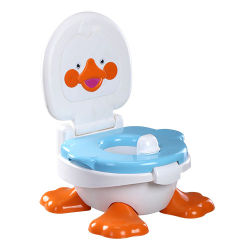 Duck Baby Potty White