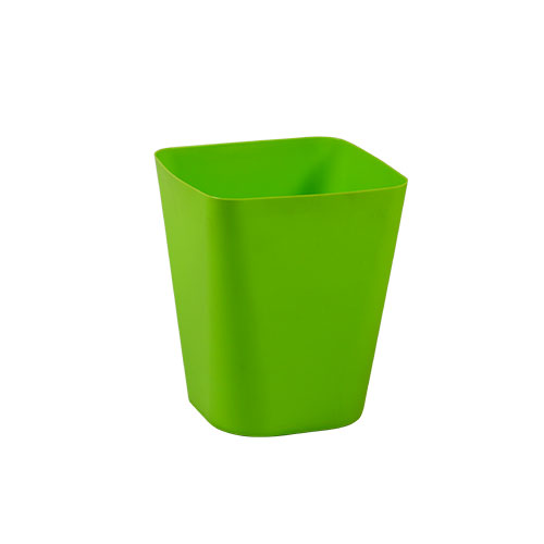 Square Paper Basket Green
