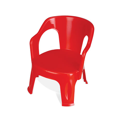 Kido Easy Chair Red