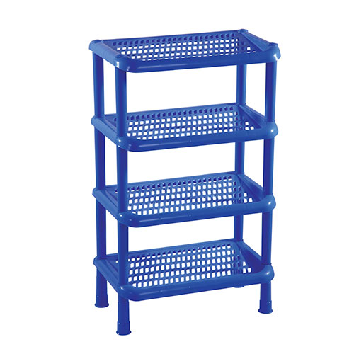 4 steps Shoe Rack SM Blue