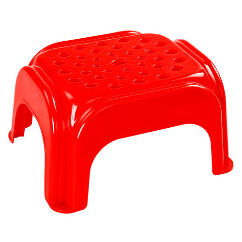 Kitchen Short Stool Red