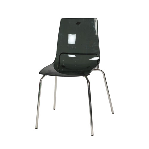 Transpa Deluxe Chair – Trans Gray