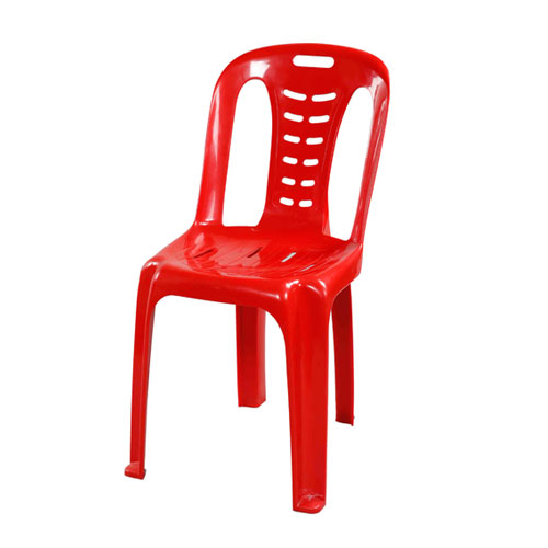 Chair Dining Deluxe (Spiral) -Red
