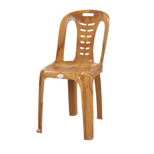 Chair Dining Deluxe (Spiral) -Sandal Wood