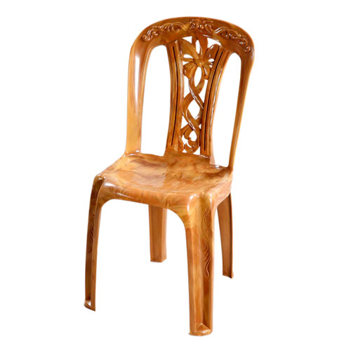 Slim Chair (Ribbon Flower) – Sandal Wood