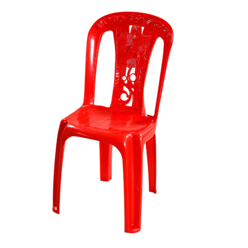 Slim Chair (Stick Flower) – Red