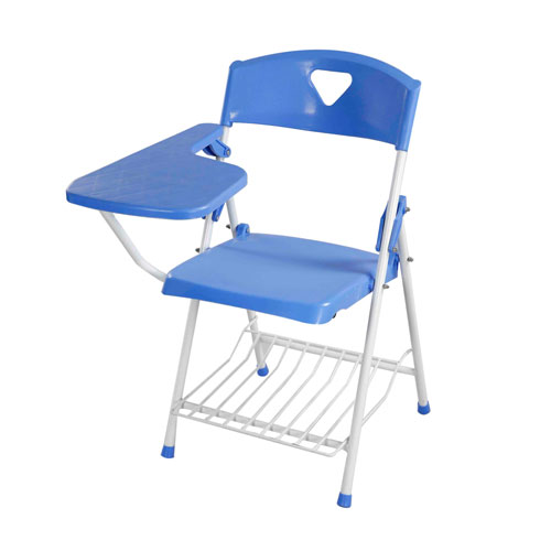 Classroom Chair With Arm – SM Blue