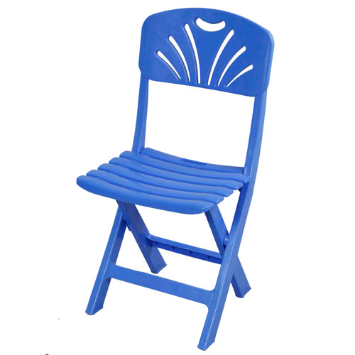 Folding Casual Chair (Tulip-Bar-SM Blue)