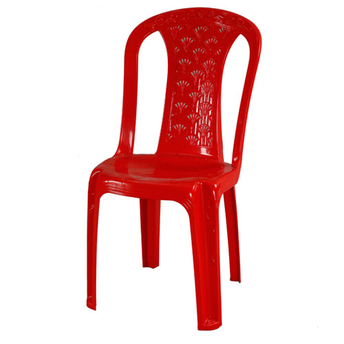 Decorate Chair (Tube Rose) – Red