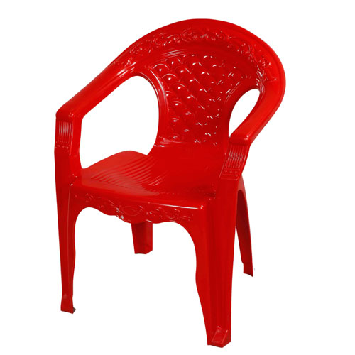 Classic Relax Chair – Red