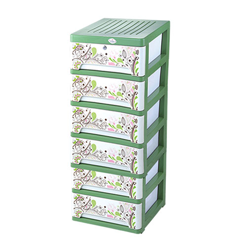 Amass Closet Orchid 6 Drawer