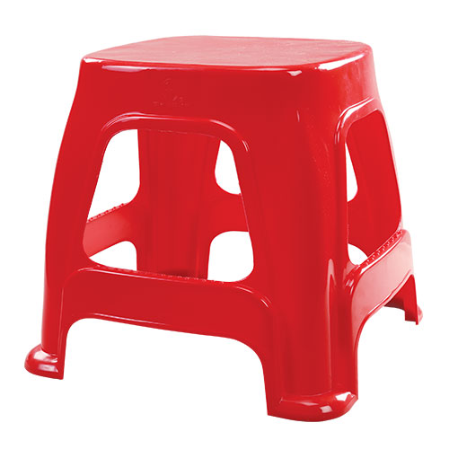 Prime Medium Stool Red