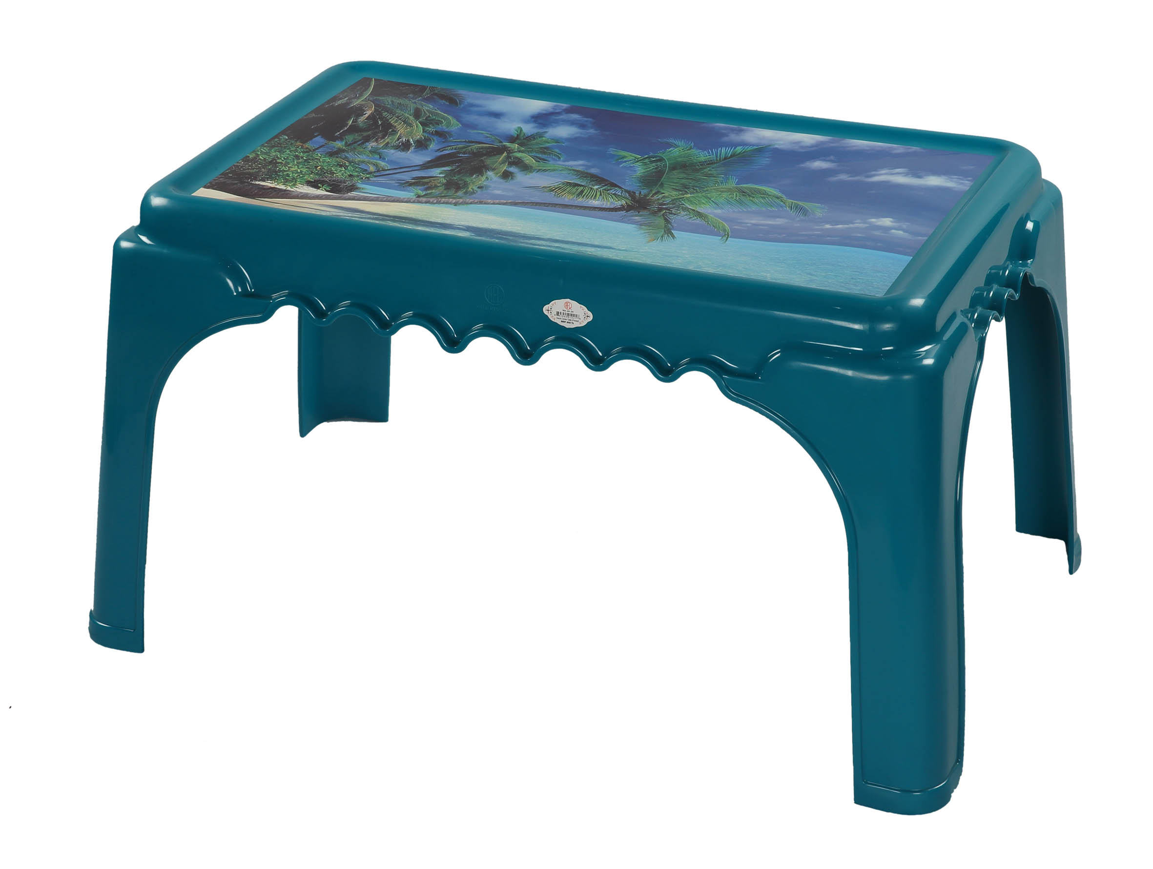 Classic Center Table Printed Ocenia-Tulip Green