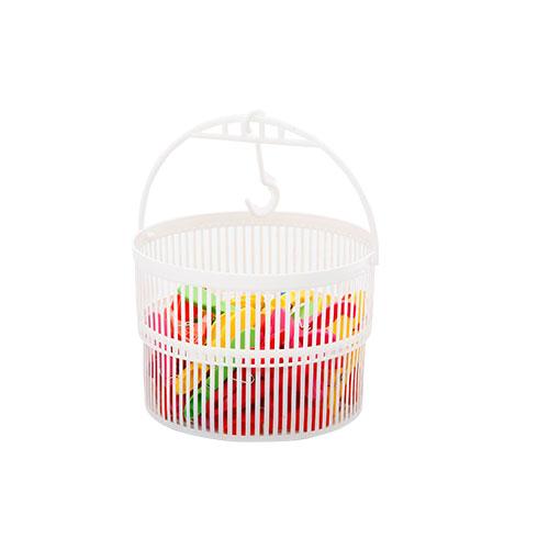 Clip Basket With 25 pcs Clip Pink
