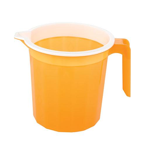 Diamond Mug Two Color Trans Orange 1.5L