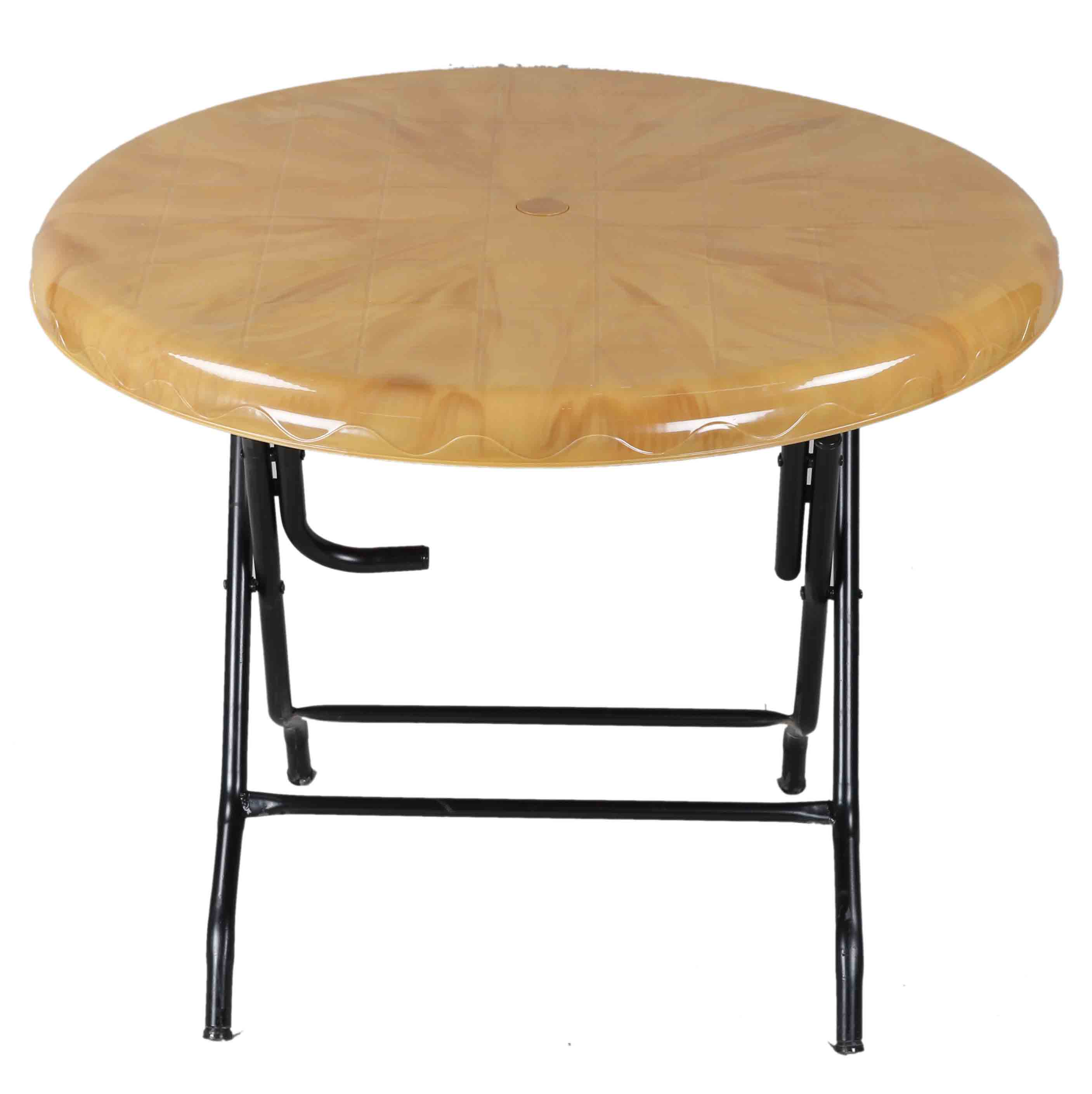 Dining Table 4 Seat Ro St/Leg-S.Wood