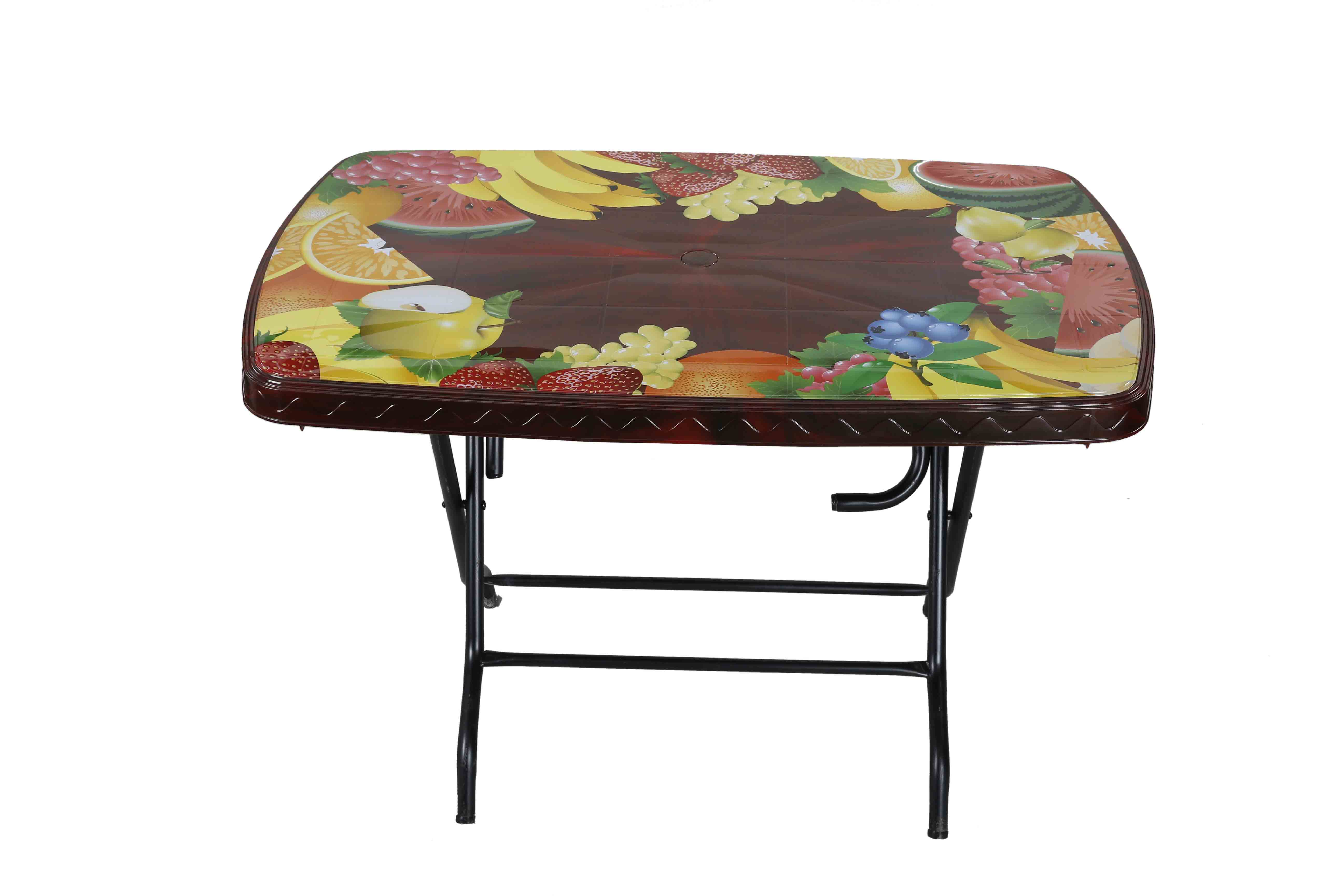 Dining Table 4 Seat Rtg S/L Print Mixed Fruit – RW