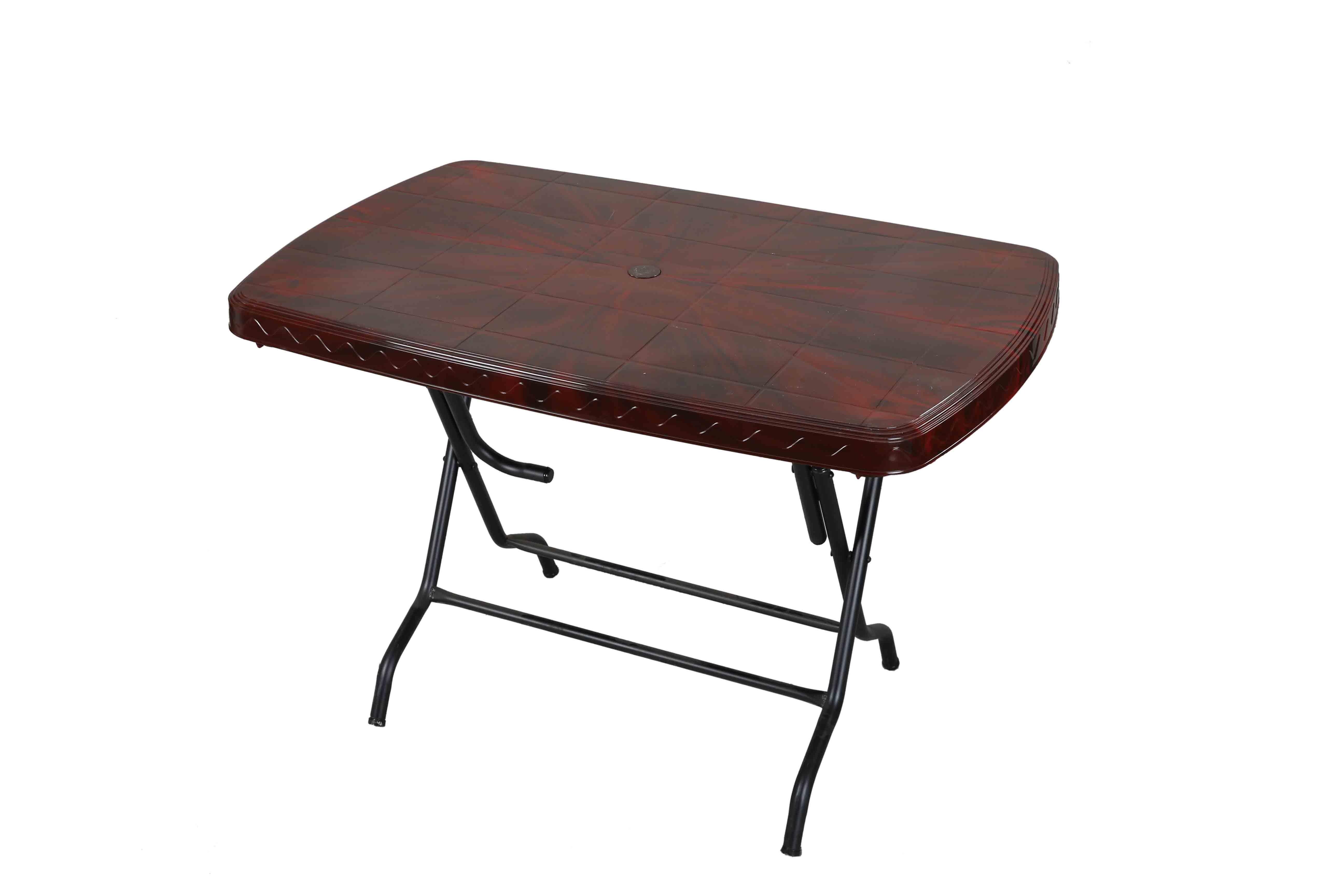 Dining Table 4 Seat Rtg St/Leg – Rose Wood
