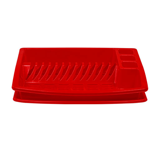 Dish Drainer Red