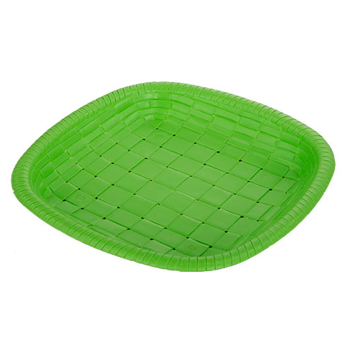 Fruit Servicing Tray Green