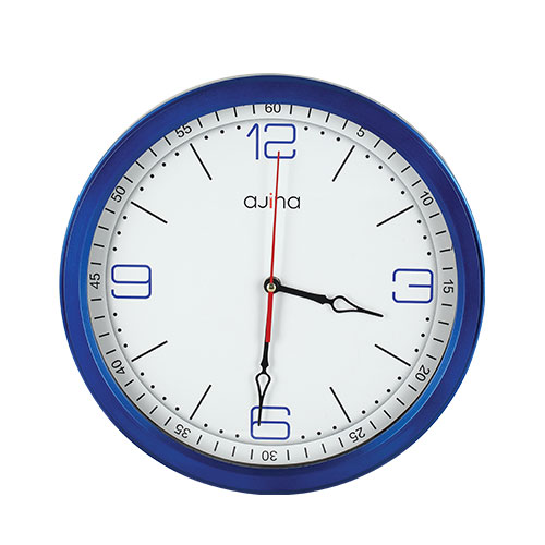 Jordi Classic Wall Clock Blue