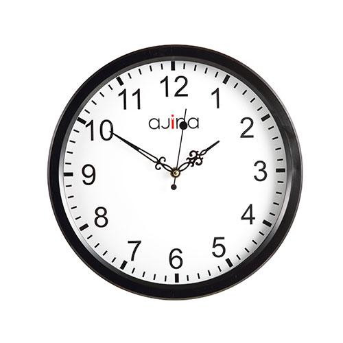 Jordi Wall Clock Black