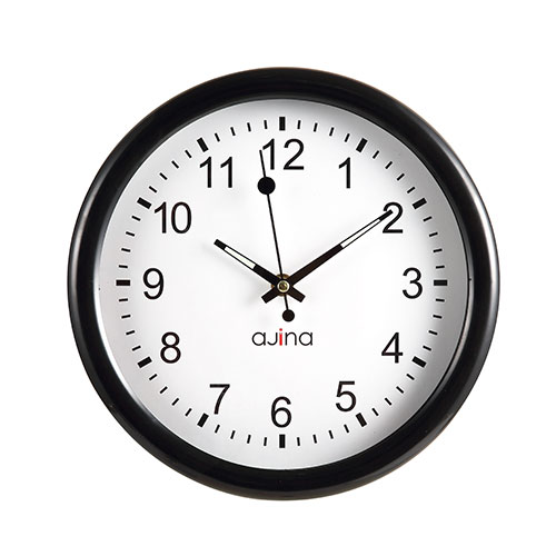 Logan Wall Clock Black