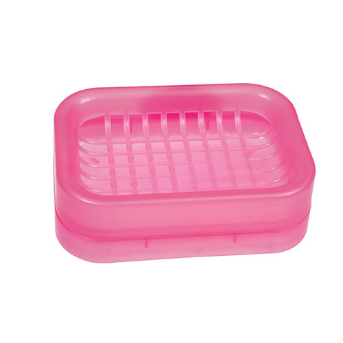 Net Soap Case Pink