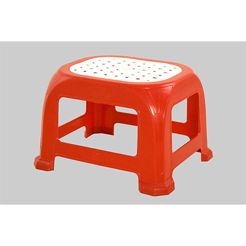 Net Stool Medium Red