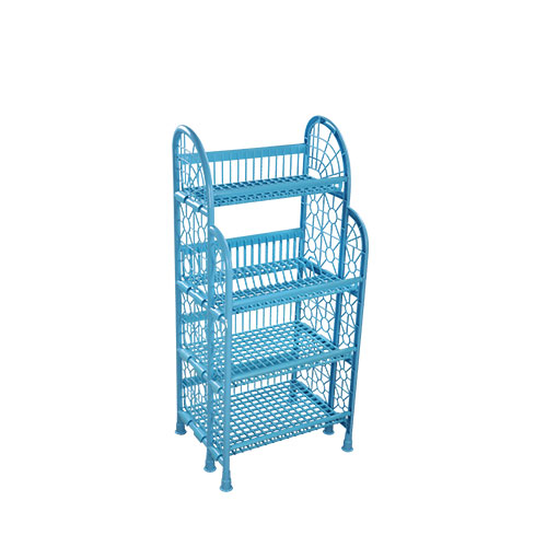 Premium Kitchen Rack SM Blue & White