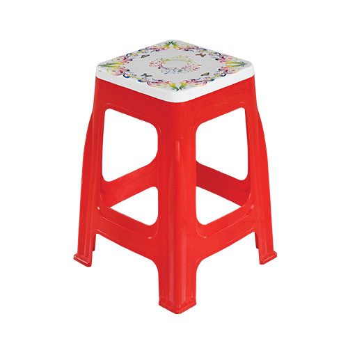 Prime High Stool Red