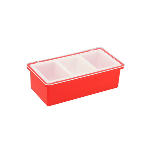 Ruchi Spice Tray Red