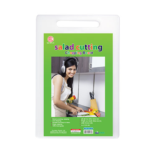 Salad Cutting Chopping Board White