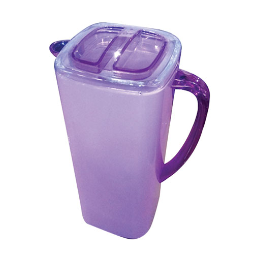 Samira Sq Jug (1.8L) Trans Purple