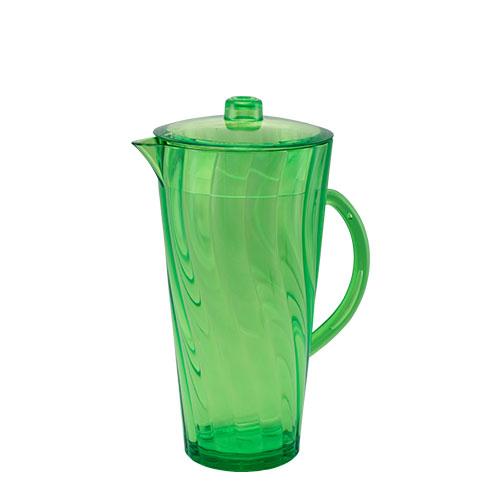 Shine Jug Trans Olive Green 2L