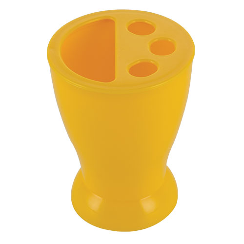 Smile Pencil Stand Yellow