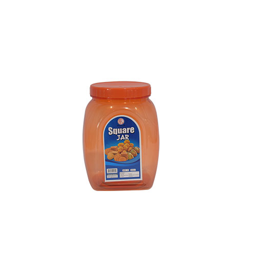 Square Jar Assorted 2L