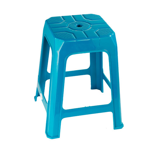 Square Stool Tuilip Green