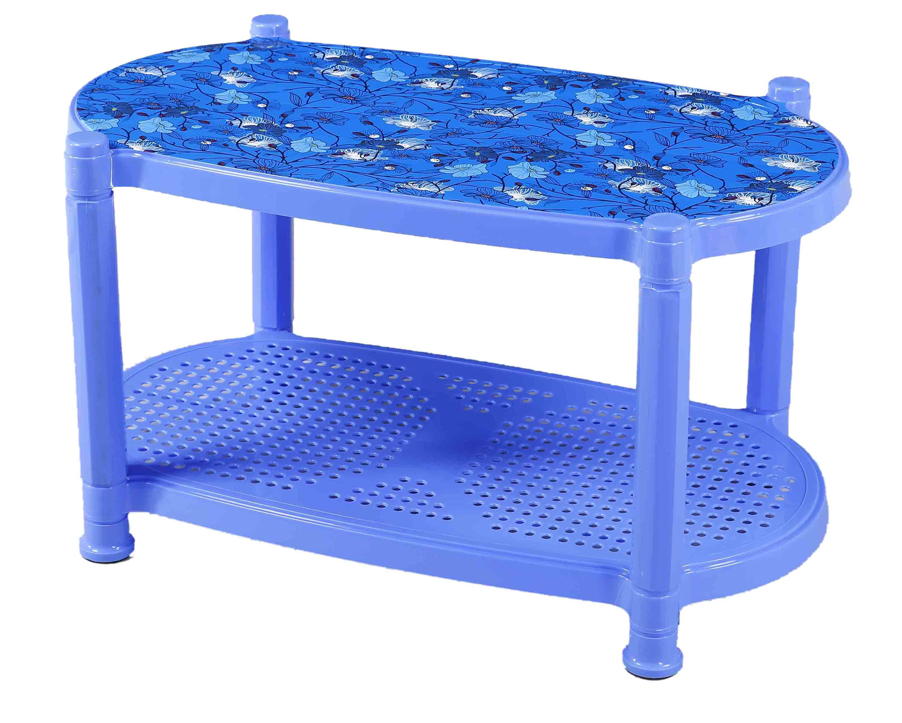 Tea Table With Stopper Printed Nest-R.Wood