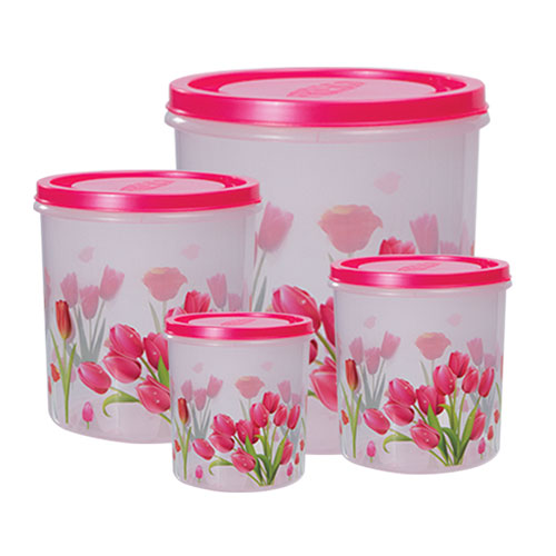 Tulip Container 4 Pcs Set Small