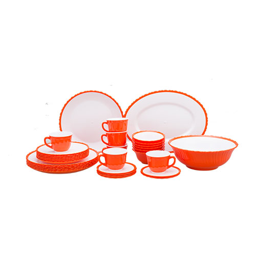 Tulip Dinner Set 32 pcs set Orange