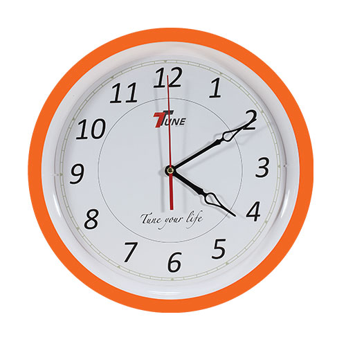 Tune Ro Wall Clock TR2 Orange