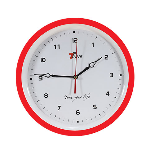 Tune Ro Wall Clock TR4 Red