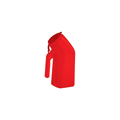 Urinal Container Red